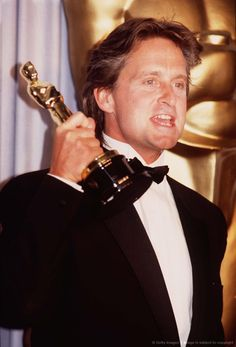 Michael Douglas won the Academy Award for Best Actor for his role as Gordon Gekko in Wall Street (1987).