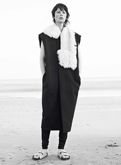 Edie Campbell for Vogue Paris November 2013   The Fashionography