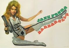 Barbarella Movie, Jane Fonda Barbarella, Space Girl, Space Age, Online Posters, Sci Fi Movies, Vintage Hollywood, Classic Hollywood, Comics
