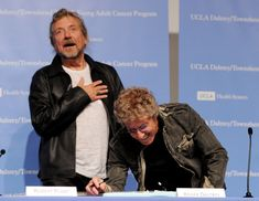 Two of my faves - why didn't I know this photo exisited .....Ladies and Gentleman, Robert Plant & Roger Daltrey