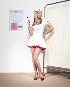 Sarah Michelle Gellar sexy funny nurse ~never mind the injection!~  <3