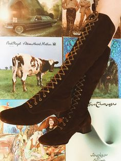 3f1cec4e6eb2 THE SUEDE BOOTS. Lace Up BootsSuede BootsFall CollectionsFall WardrobeKnee  High ...