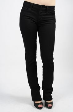 Lynden Bootcut in Black - the black that never fades! #joes #mapelboutique