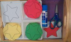 Montessori Nature: Montessori Christmas Shelves.