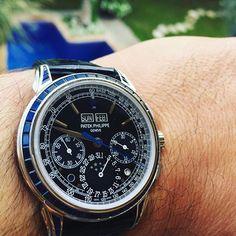 Patek Philippe [NEW][RARE] 5271/11P Sapphire Perpetual Calendar Chronograph at HK$2,340,000.