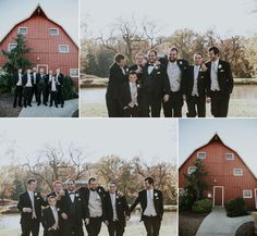 Fall Cedar Lake Cellars Wedding  Groomsmen
