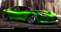 2013 Viper in green