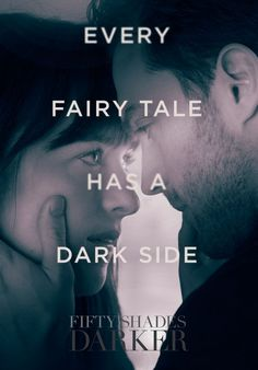 Every fairytale has a dark side. Dakota Johnson is Anastasia Steele & Jamie Dornan is Christian Grey. Shades Of Grey Film, Fifty Shades Darker Movie, Fifty Shades Quotes, Shade Quotes, 50 Shades Darker, 50 Shades Trilogy, Fifty Shades Series, Jamie Dornan, Christian Grey Quotes