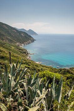 De westkust van Cap Corse
