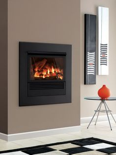 Simple Electric Fireplace Inserts Idea