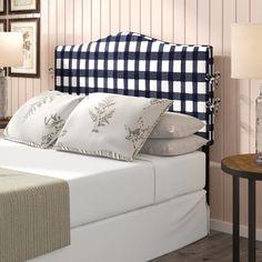 Laurel Foundry Modern Farmhouse Trina Linen Upholstered Panel Headboard | Wayfair