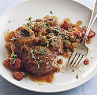 Slow-Cooker Osso Buco - add a splash of balsalmic vinegar when you plate it and don't forget the gremolata; it truly makes the dish delish!