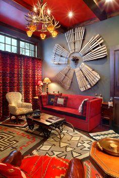 Wind Mill - Found Parts turned into wall art Eclectic Living Room, Home Living Room, Living Room Inspiration, Home Decor Inspiration, Interior Decorating, Interior Design, Cool Walls, Portfolio Design, House Colors