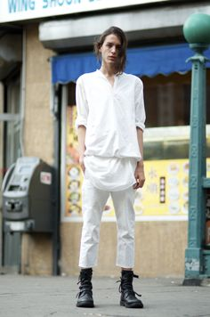 An Unknown Quantity | New York Fashion Street Style | ストリートスナップ: #284 Julien Archer on Rutgers St.