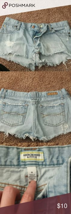 Daisy Dukes Abercrombie and Fitch Abercrombie & Fitch Shorts Jean Shorts