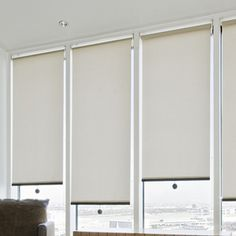Roller Shades, Curtains With Blinds, Blinds For Windows, Motorized Blinds, Sheer Shades, White Plains, White Fabrics, Blinds Sydney