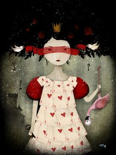 Anne-Julie Aubry.  .... This would make a great original Halloween costume!!!