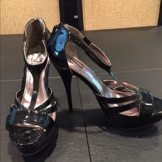 """Type Z high heels These shoes have been worn and have some marks from use. 5"""" heels Type Z Shoes"""