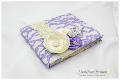 Hey, I found this really awesome Etsy listing at https://www.etsy.com/listing/189877001/wedding-lace-guest-book-custom-bridal