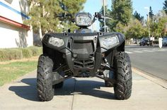 New 2015 Polaris Sportsman® 850 SP ATVs For Sale in California. Powerful 850 EFI high output engine Electronic Power Steering (EPS) Class-leading 11.5 inch ground clearance Operational: - Steering: EPS Other: - Notes: YOUTH Models (Phoenix, Sportsman, Outlaw) ATVs can be hazardous to operate and are not intended for on-road use. The Polaris 50-cc ATV model is intended for operators ages 6 and over, 90-cc ATV models are intended for operators ages 10 and older, and the 200-cc ATV is intended…