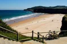 Playa de Langre #Cantabria #Spain #Travel #Beach #Coast