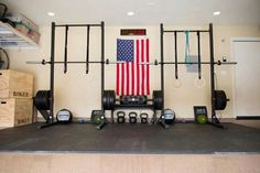 Another His and Hers CrossFit garage gym #WOD #RogueFitness
