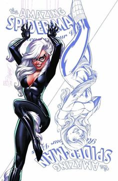 (W) Jody Houser (A) Nick Roche (CA) J Scott Campbell. Jump eight years into the future with the web-slinging and wall-crawling Spider-Man family! Spiderman Black Cat, Black Cat Marvel, Amazing Spiderman, Marvel Tumblr, Catwoman Cosplay, J Scott Campbell, Comic Manga, Spider Girl, Comics Girls