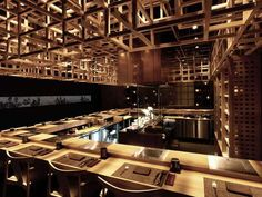 50 Wicked Restaurant Designs - From Beaver Dam Ceilings to Beer-Friendly Furnishings (CLUSTER)