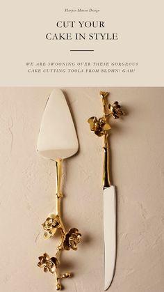 Our favorite Cake Cutting Utensils!