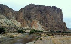 ... : El Rio Chubut, camino a la Piedra Parada, Chubut, Argentina
