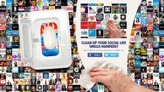 Ajax nettoie même vos réseaux sociaux !