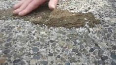 This is a simple and easy video demonstration showing the application process to fill your driveway cracks. Using a crack sealant and using a sand pea gravel...