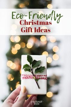 Want some zero-waste gift wrapping ideas? These eco-friendly gift-wrapping methods will reduce so much waste, especially during the Christmas holidays. Love Gifts, Thank You Gifts, Gifts For Him, Best Gifts, Diy Gifts, Christmas Gift List, Homemade Christmas Gifts, Holiday Gifts, Christmas Shopping