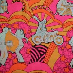 1970's  Gift Wrap Wrapping Paper. If I ever got a gift wrapped in this paper, I'd be more excited about the paper!
