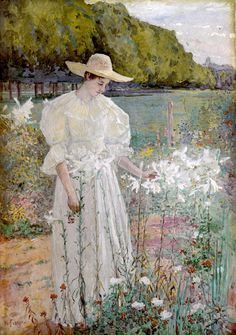 Among the Lilies - William Forsyth