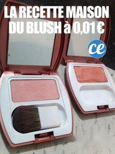 La recette du blush fait maison en poudre à 0,01 centime
