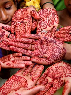 Henna Hands, by Michelle Walsh