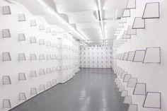 Finbar Ward, 'In Absence', 2016, installation view, Fold Gallery, London