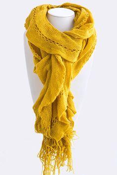 $9.00 Knit Scarves