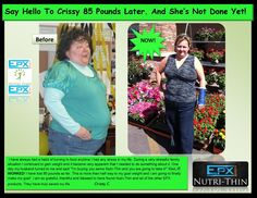 Another EPX Challenge Winner! WTG Crissy!  No need for celebrity advertising! Real people - Real results!  http://budurl.com/NutriThinInfo  FREE SAMPLE - FREE SHIPPING - NO Credit Card info needed!  http://budurl.com/NutriThinSample    #weightloss   #beforeandafter   #epxbody   #epxbodychallenge   #nutrithin