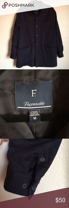 5d9f8d5452596a Faconnable Men s jacket EUC with no visible flaws. Perfect top layer jacket  as it s not