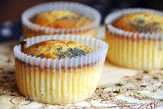 Lemon muffins with poppy seeds recipe