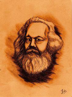 Karl Marx by BenJogan