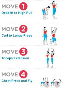 """LIFT MORE TO LOSE MORE! Lift Heavier Weights! A recent study showed that women who lifted a challenging weight for eight reps burned nearly twice as many calories as women who knocked out 15 reps with lighter dumbbells. This routine uses """"burn-out sets"""" to make you stronger and firmer"""