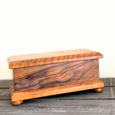 Olive Wood Box- Wood Rustic Home Decor- Gift For Him- Olive Wood Design…
