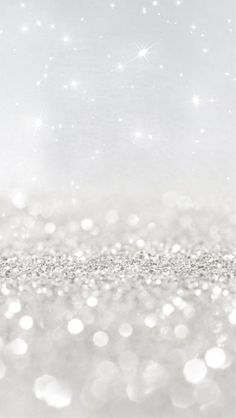 Glitters... White & Sparkling - Best background for my phone!
