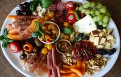 1000 ideas about antipasto platter on pinterest Ina garten appetizer platter
