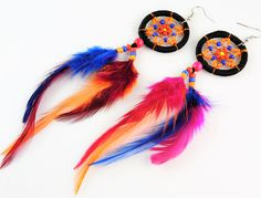 Dream Catcher Feather Earrings - $8.95 plus FREE standard postage - Australia Wide