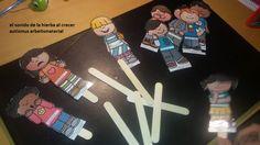 Autismus Arbeitsmaterial: Puppen für Emotionen Theater 2