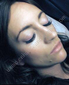 Russian volume lashes from enhance and pamper Manchester